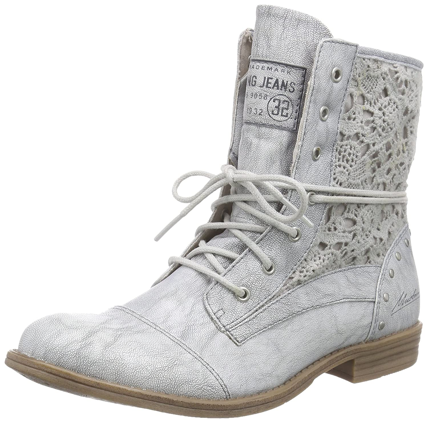 1157-527, Womens Cold Lined Classic Boots Short Length Mustang