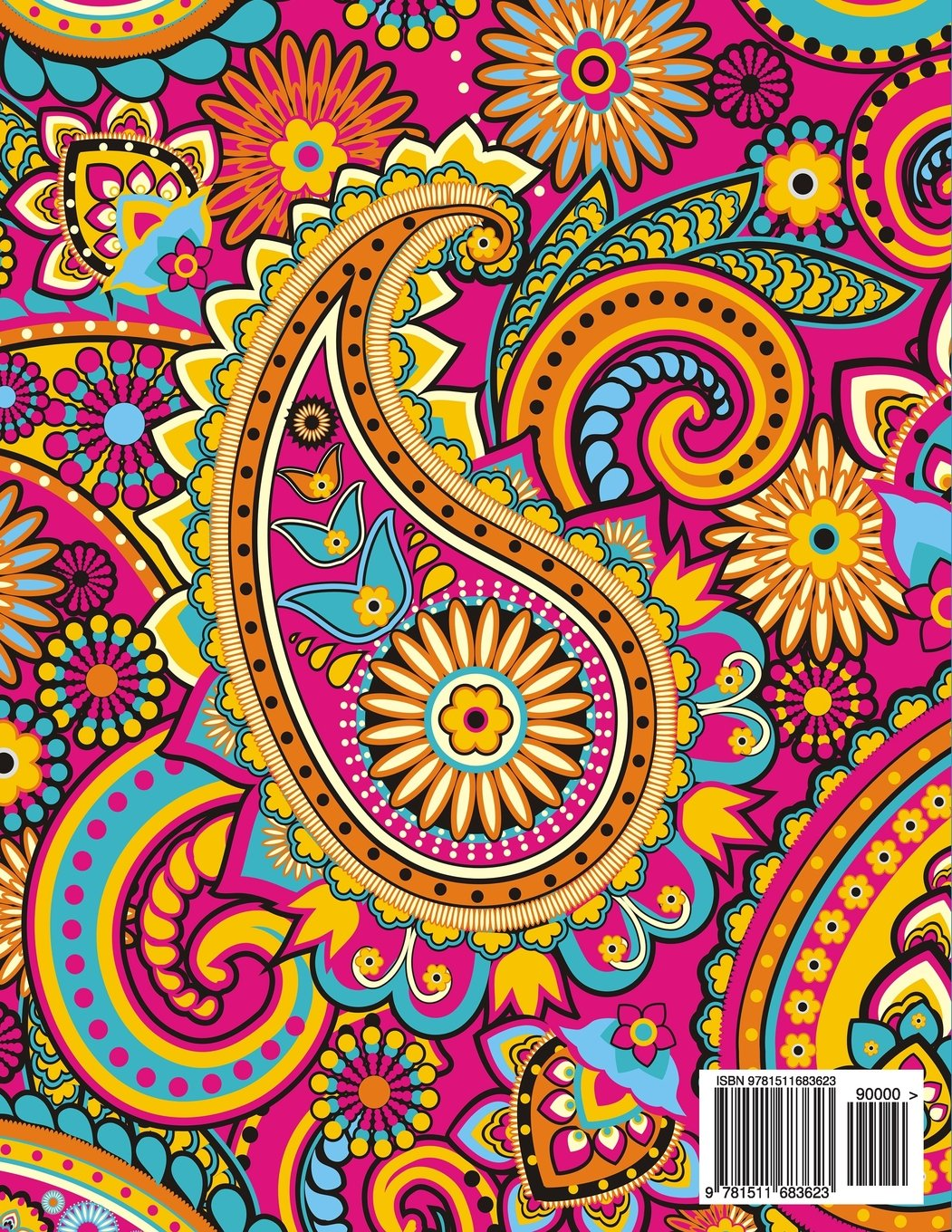Paisley Patterns An Adult Coloring Book Demimonde Creative 9781511683623 Amazon Com Books