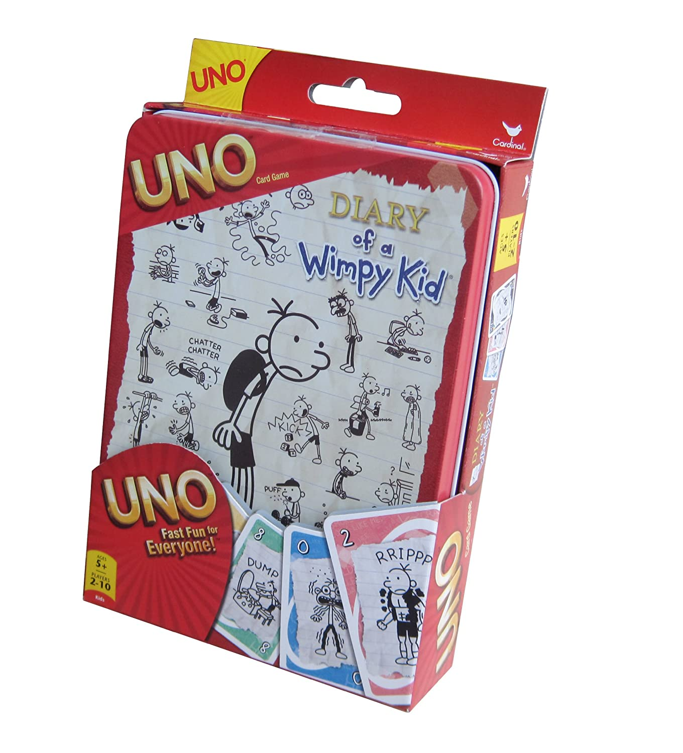 Fundex Diary of a Wimpy Kid UNO