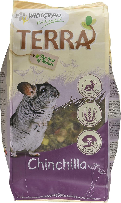 VADIGRAN Terra Comida para Chinchillas, 2,25kg