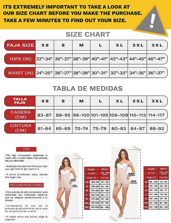 MariaE Fajas Colombianas postoperatoria despu/és del Parto con Mangas Beige 9142