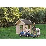 Casetta in legno per bambini BIMBI 110 x 110 cm