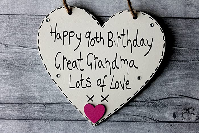 Image Unavailable Not Available For Colour MadeAt94 90th Birthday Gifts Great Grandma