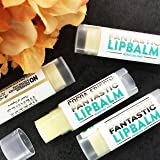 100% All Natural, Handcrafted, Vegan Lip Balm