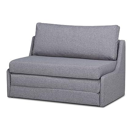 Amazon Com Sleeper Loveseat Convertible Sofa Upholstered Twin