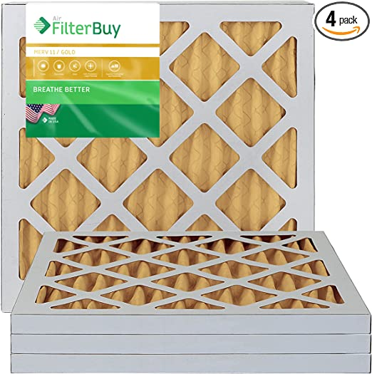 /AFB Platinum Merv 13/ 4/Pack Ofen Filter//Air Filter/ AFB10x10x1M13Apk4