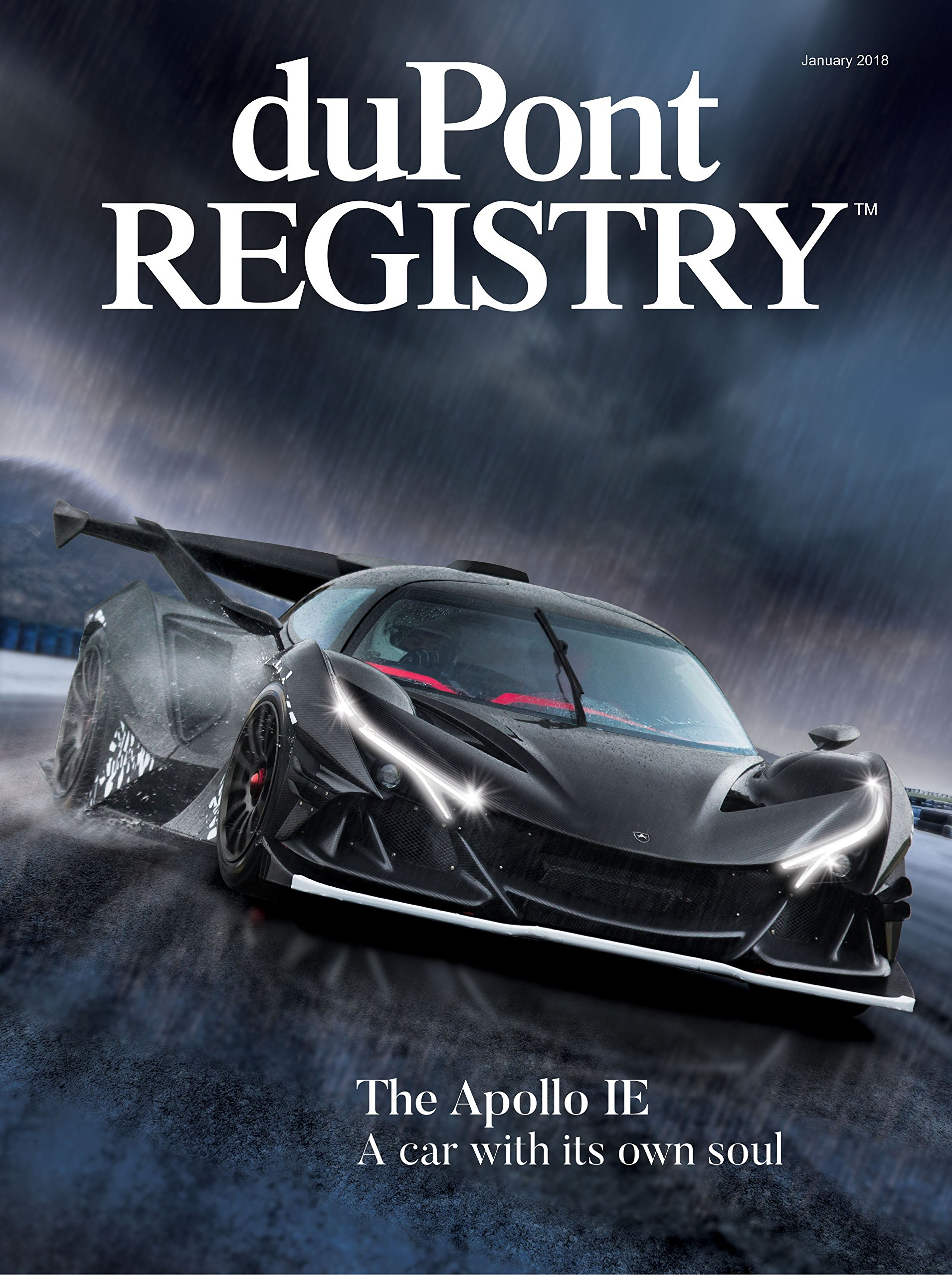 Dupont Registry Autos January 2018 Dupont Registry Amazon Com Books