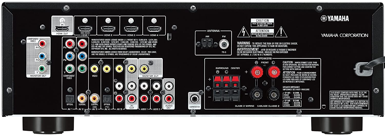 amazon com yamaha rx v373 5 1 channel av receiver discontinued rh amazon com  yamaha rx-v373 owner's manual