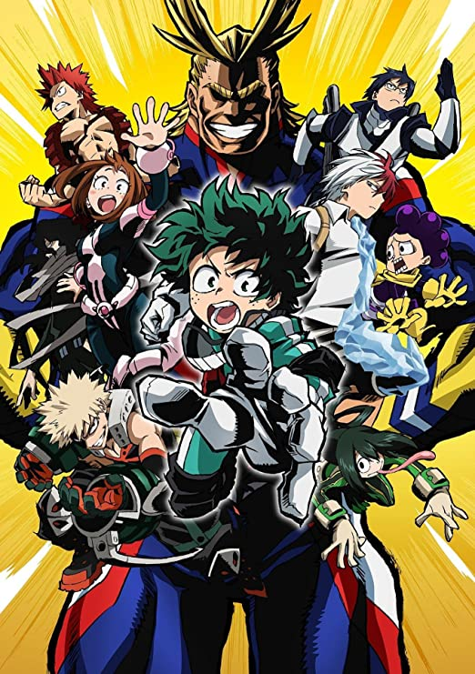 Amazon Com Skinhub 12 X 17 Boku No Hero Academia My Hero Academia Anime Poster Posters Prints