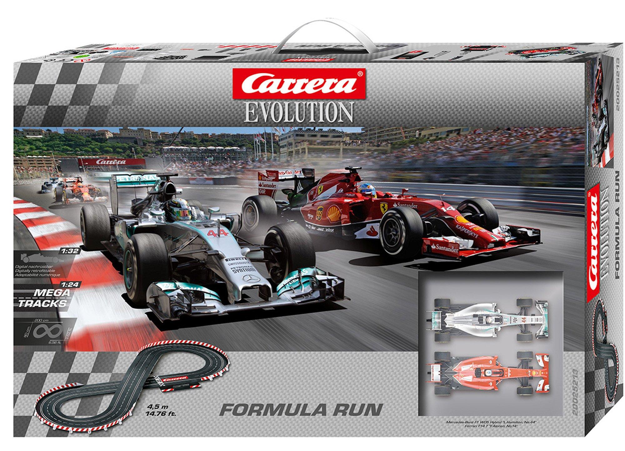 Carrera Evolution - Formula Run Race Set
