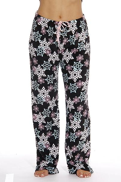 6339-10167-XS Just Love Women s Plush Pajama Pants - Petite to Plus Size 95e2502dc