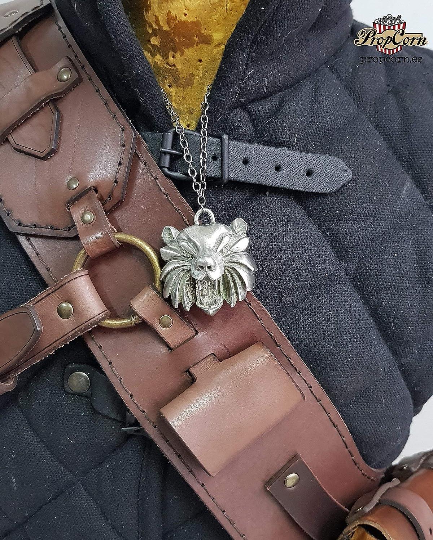 Witcher 3 Ursine Armor Baldric replica della Geralt of Rivia Legendary GrandMaster Ursine gear della Bear School handmade in pelle