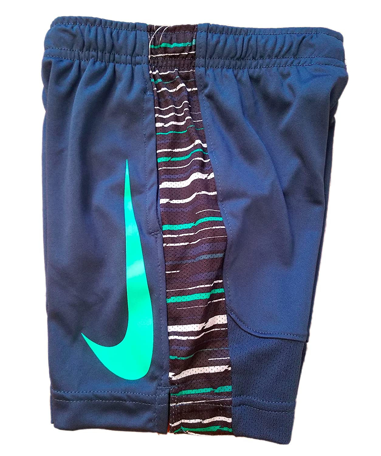 Size 4 Nike Little Boys Pull-On Shorts Squad Blue