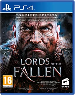 Amazon com: Lords of the Fallen - PlayStation 4 : Limited Edition