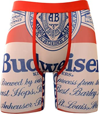 f532251b57143 PSD Men s Athletic Boxer Brief Underwear- Budweiser Classic at Amazon Men s  Clothing store