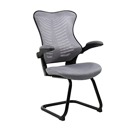 Beau Office Factor Reception Guest Chairs With Flip Up Arms U2013 Comfortable Mesh,  Ergonomic Contour,