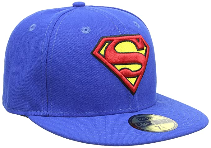 d1029337a12 New Era Cap CHARACTER BASIC SUPERMAN blue red yellow Größe  6 7