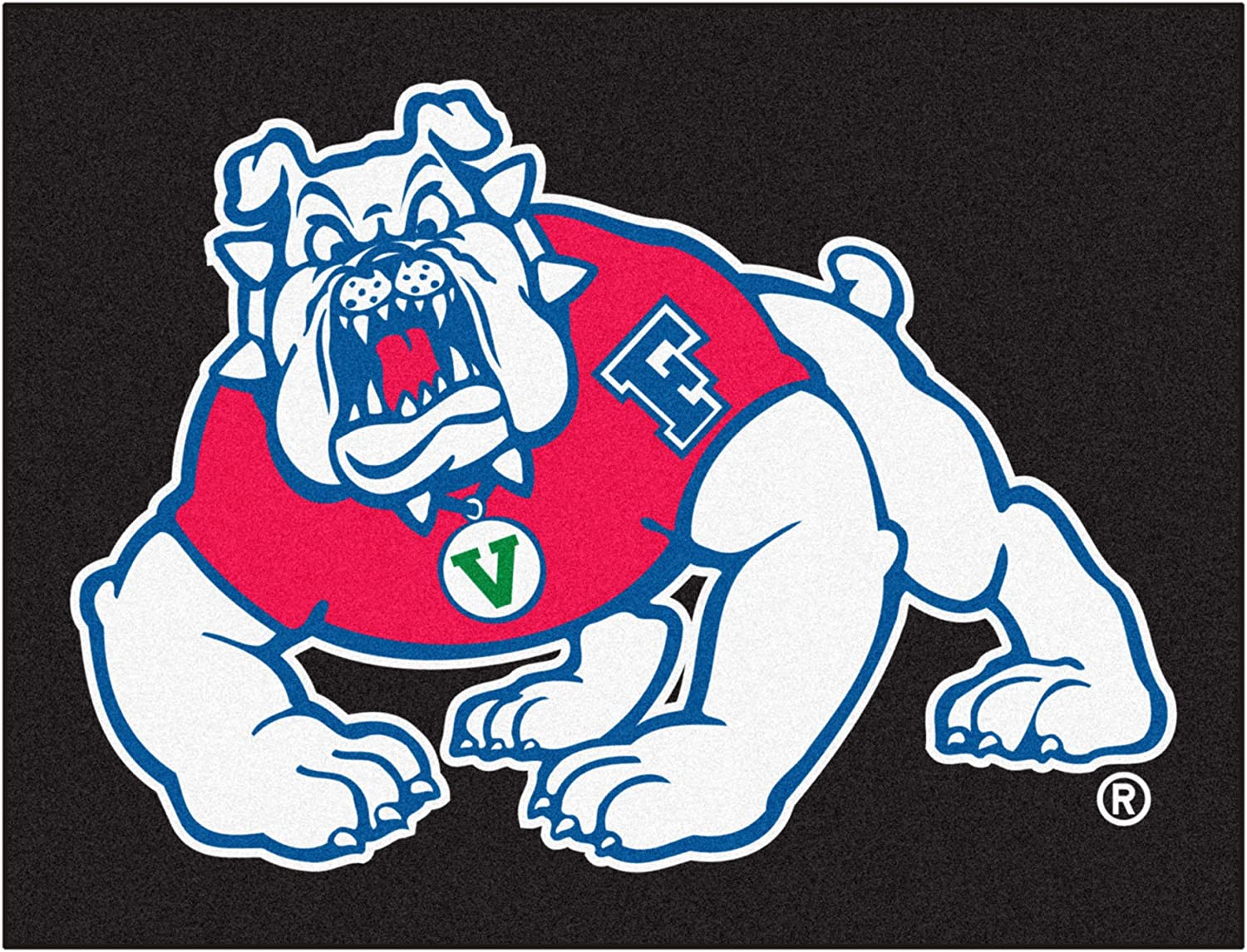 Black Team Color Fresno State All-Star Mat FANMATS 19282 33.75x42.5