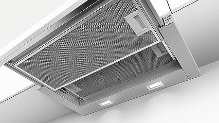 Bosch DFL064A50 - Campana plana, color gris metálico: Amazon.es: Bricolaje y herramientas