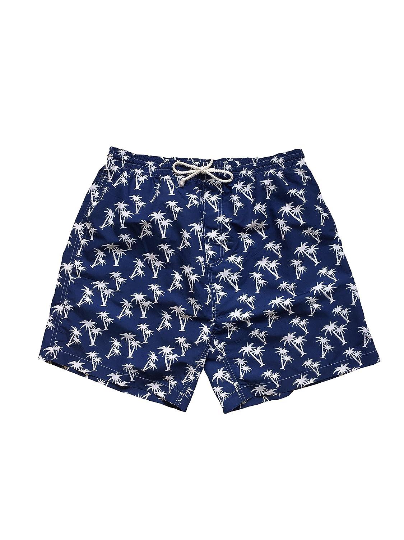 Pack of 3 Jon Lauren Apparel Big Mens Palm Tree Swim Shorts