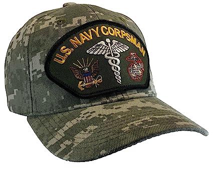 Corpsman Hat US Navy Marine Corps Digital Camo