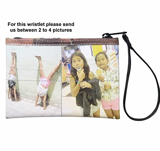 Amazon small custom wristlet with your pictures printed on it small custom wristlet with your pictures printed on it free shipping gift gifts for solutioingenieria Gallery