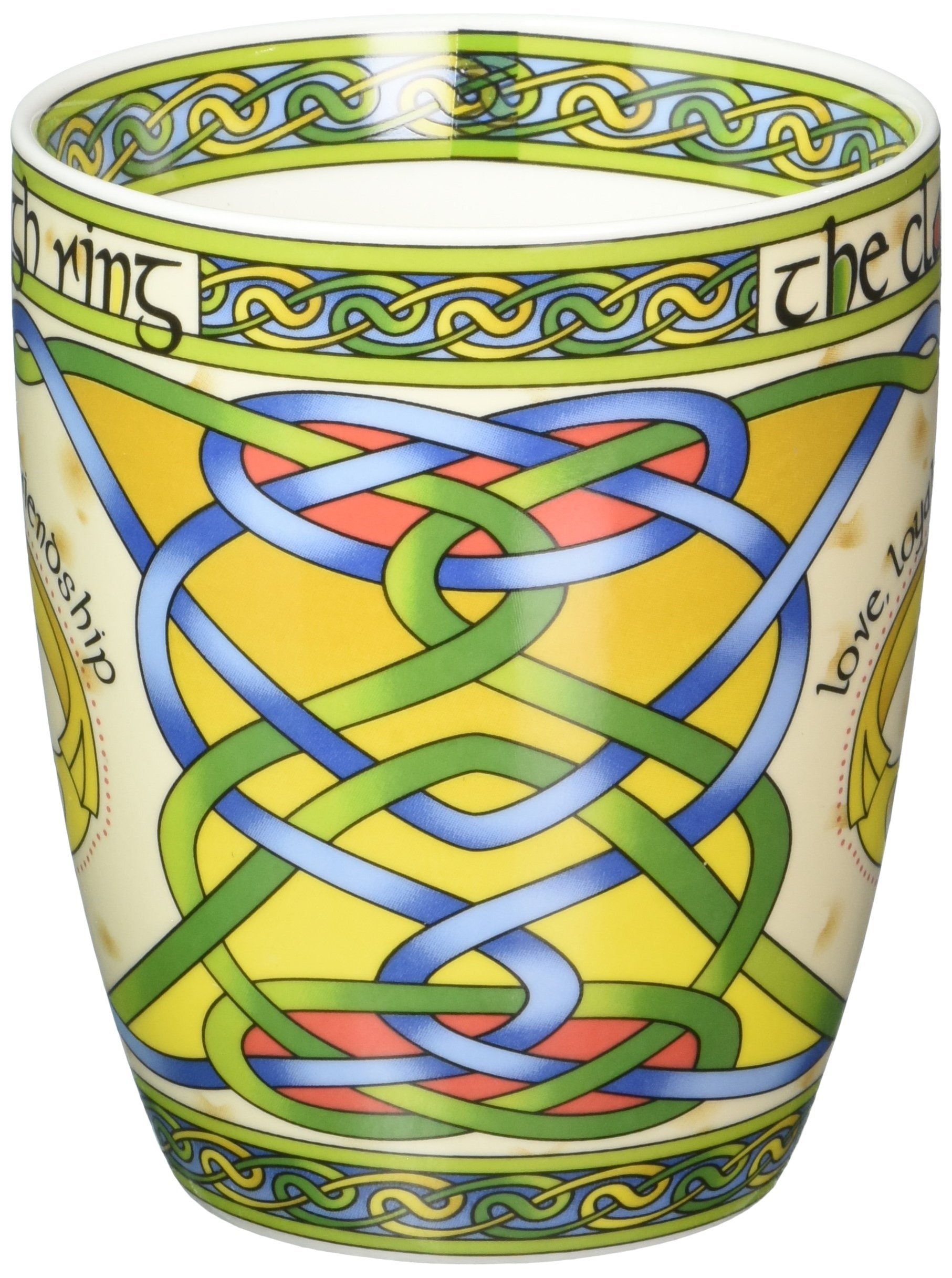 May the road rise to meet you Irish Blessing bone china mug An Irish Gift designed in Galway Ireland by Irish Weave by Royal Tara. May the wind be always at your back
