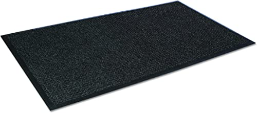 Crown SSR046CH Super-Soaker Wiper Mat w Gripper Bottom, Polypropylene, 45 x 68, Charcoal