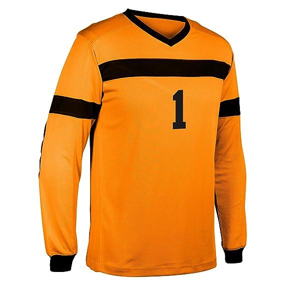 Champro - Camiseta de Portero de fútbol, Unisex, Color Naranja ...