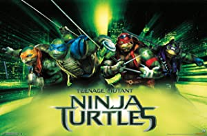 "Trends International Teenage Mutant Ninja Turtles Wall Poster 22.375"" x 34"""
