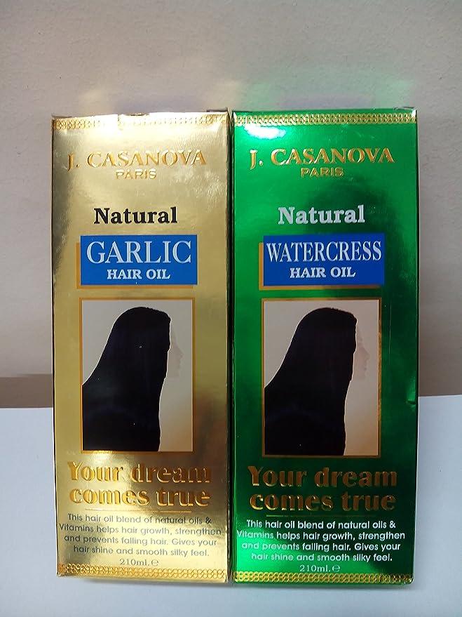 naturales agua Kresse haaröl 210 ml + ajos haaröl 210 ml ...