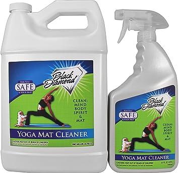 Black Diamond Esterilla de Yoga Limpiador en Spray: Seguro ...