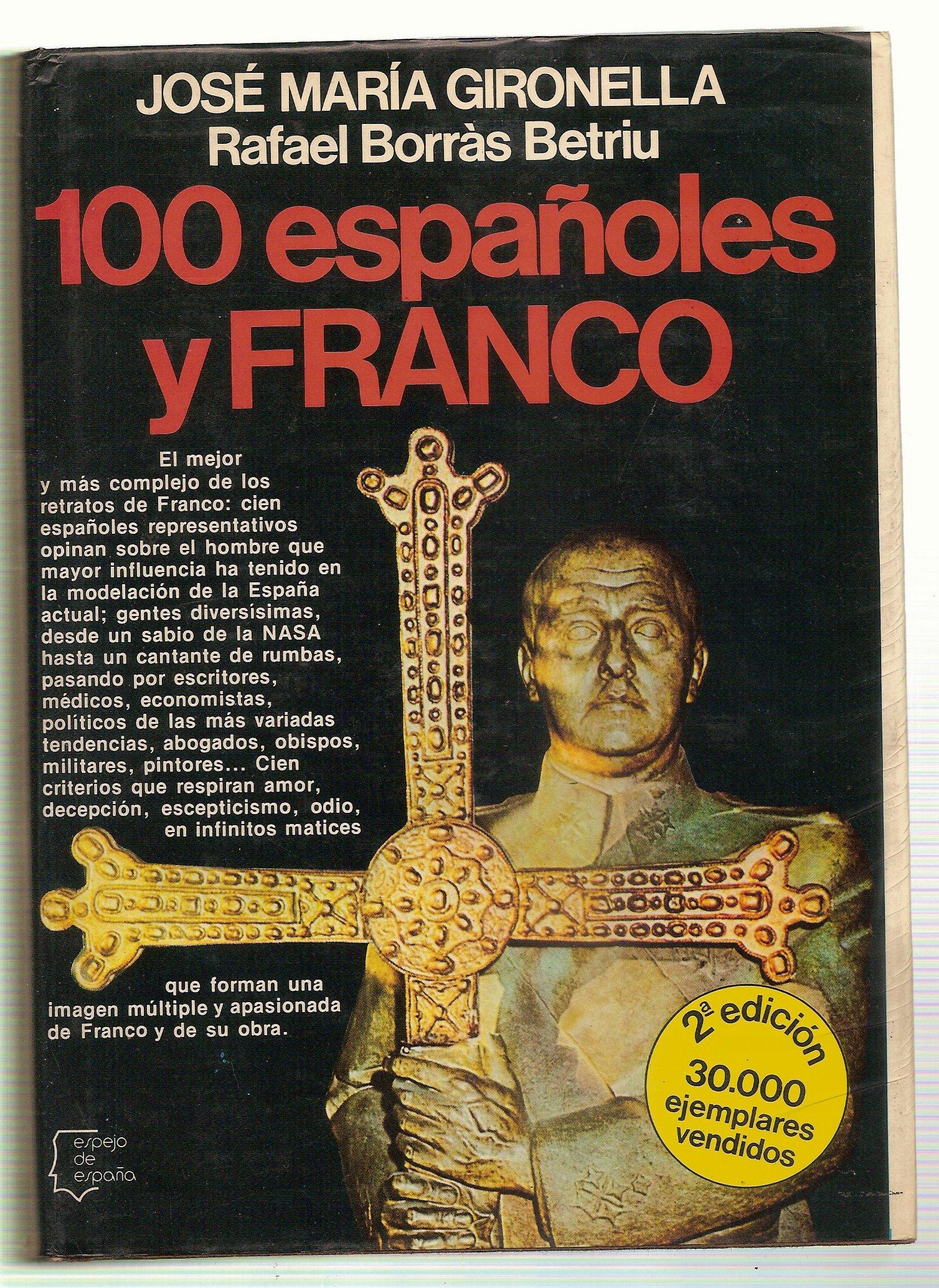 Cien españoles y Franco (Espejo de España): Amazon.es: Gironella ...