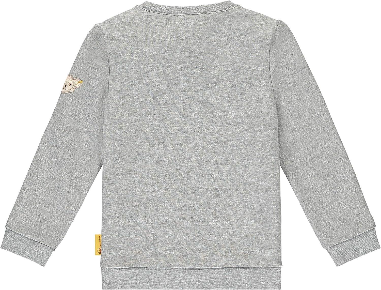 Steiff Jungen Mit S/ü/ßer teddyb/ärapplikation Sweatshirt Fleece