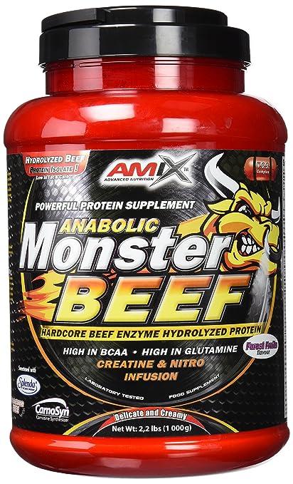 Amix Monster Beef Protein 1 kg Frutas de Bosque