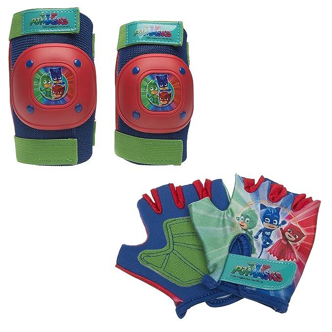 Amazon.com: Bell PJ máscaras Pad y guantes Set: Sports ...