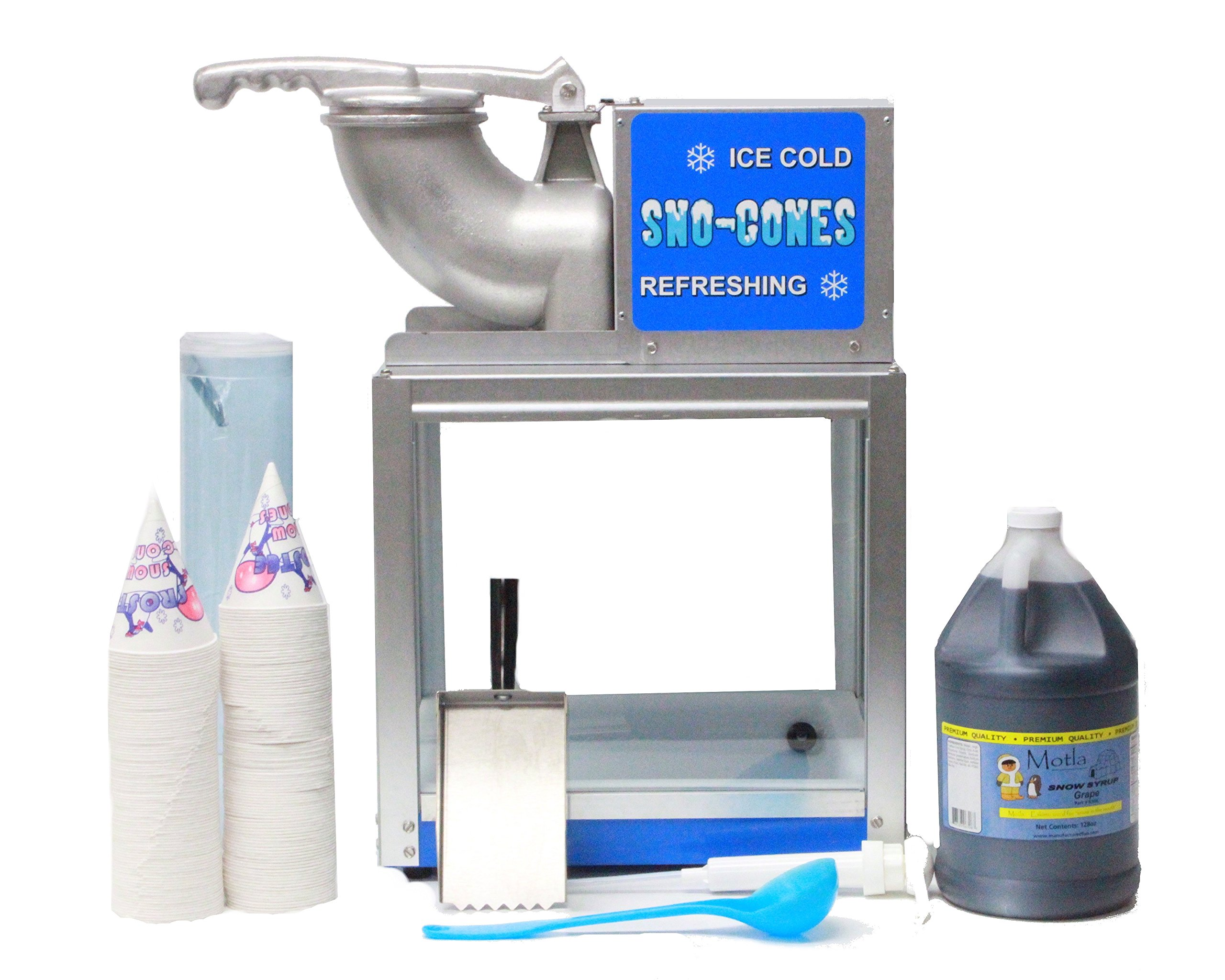 Simply-a-Blast Sno Cone Machine with Essentials Kit by Paragon