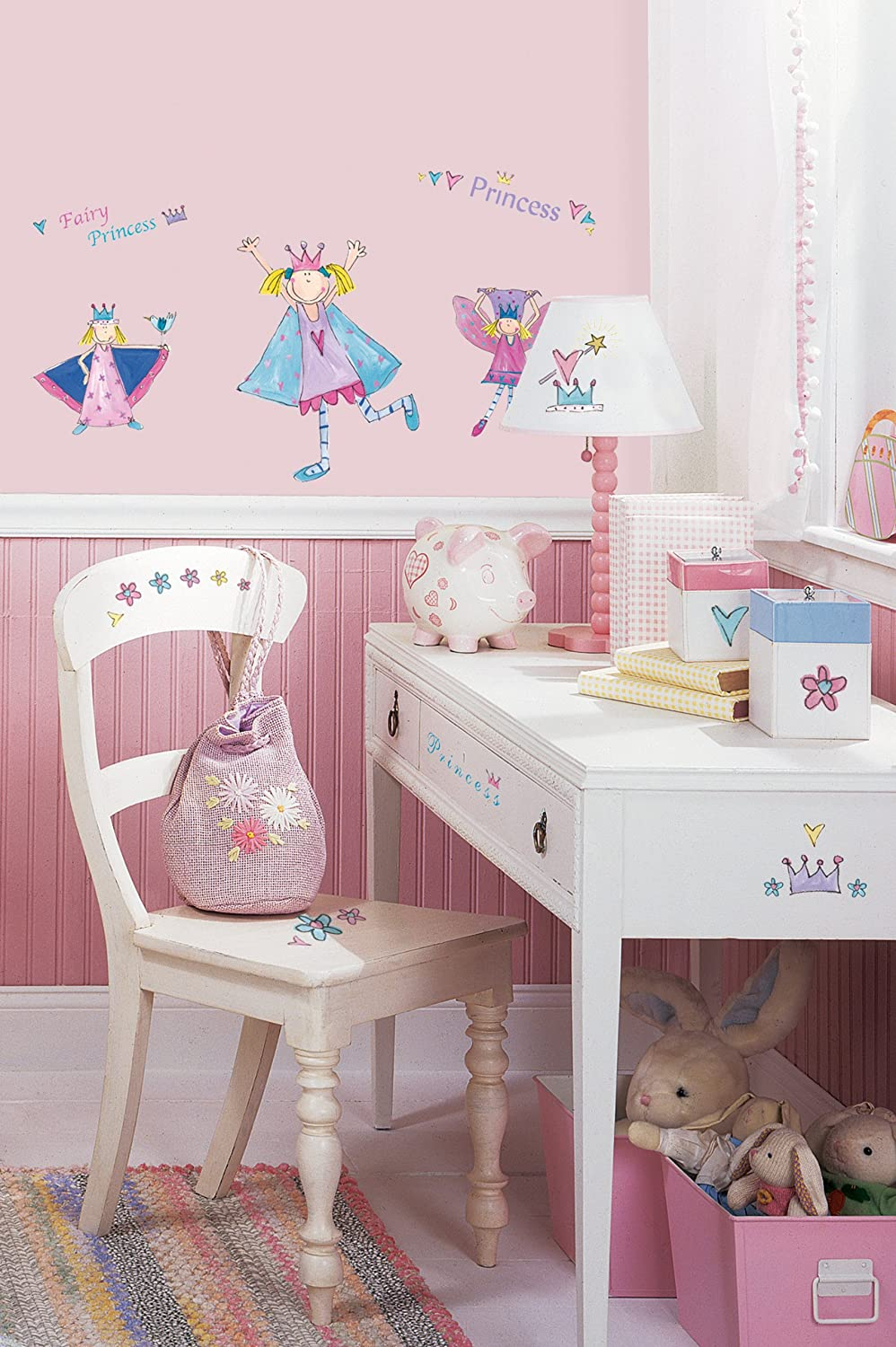 Amazon roommates rmk1015scs fairy princess peel and stick amazon roommates rmk1015scs fairy princess peel and stick wall decals home improvement amipublicfo Gallery