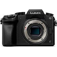 Panasonic LUMIX G DMC-G70EG-K Systemkamera (16 Megapixel, OLED-Sucher, Hybrid Kontrast AF, 7,5 cm OLED Touchscreen, 4K Foto und Video, WiFi) schwarz