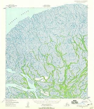 Amazon.com: Alaska Maps - 1952 Saint Michael, AK USGS ...