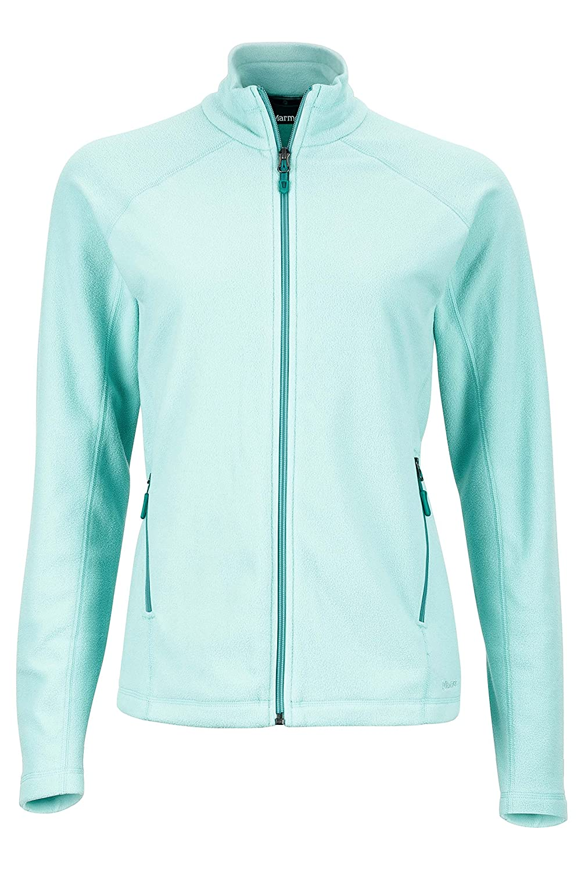 Marmot Rocklin Women's Full-Zip Jacket, Lightweight 100-Weight Fleece