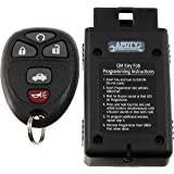 APDTY 22733524 Replacement Keyless Entry Remote Key Fob Transmitter & Programmer