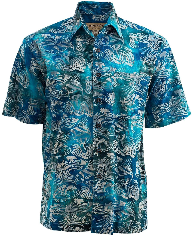 new arrival 85e02 bb8d9 Johari West Costa Roosta Cotton Batik Shirt
