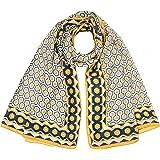 565f11517ea0 Pepe Jeans Damen Schal Kara Scarf, Mehrfarbig (Multi Bleu 0aa), One Size