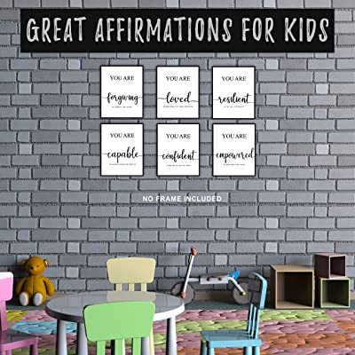 Boys Bedroom Prints Positive Affirmation Print Home Decor, Boys Nursery Print Living Room Print You are loved Inspirational Quotes