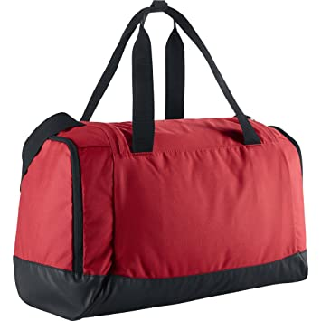 245f57022551d6 Nike Men's Club Team Duffel Bag-White/Black, Small: Amazon.co.uk ...
