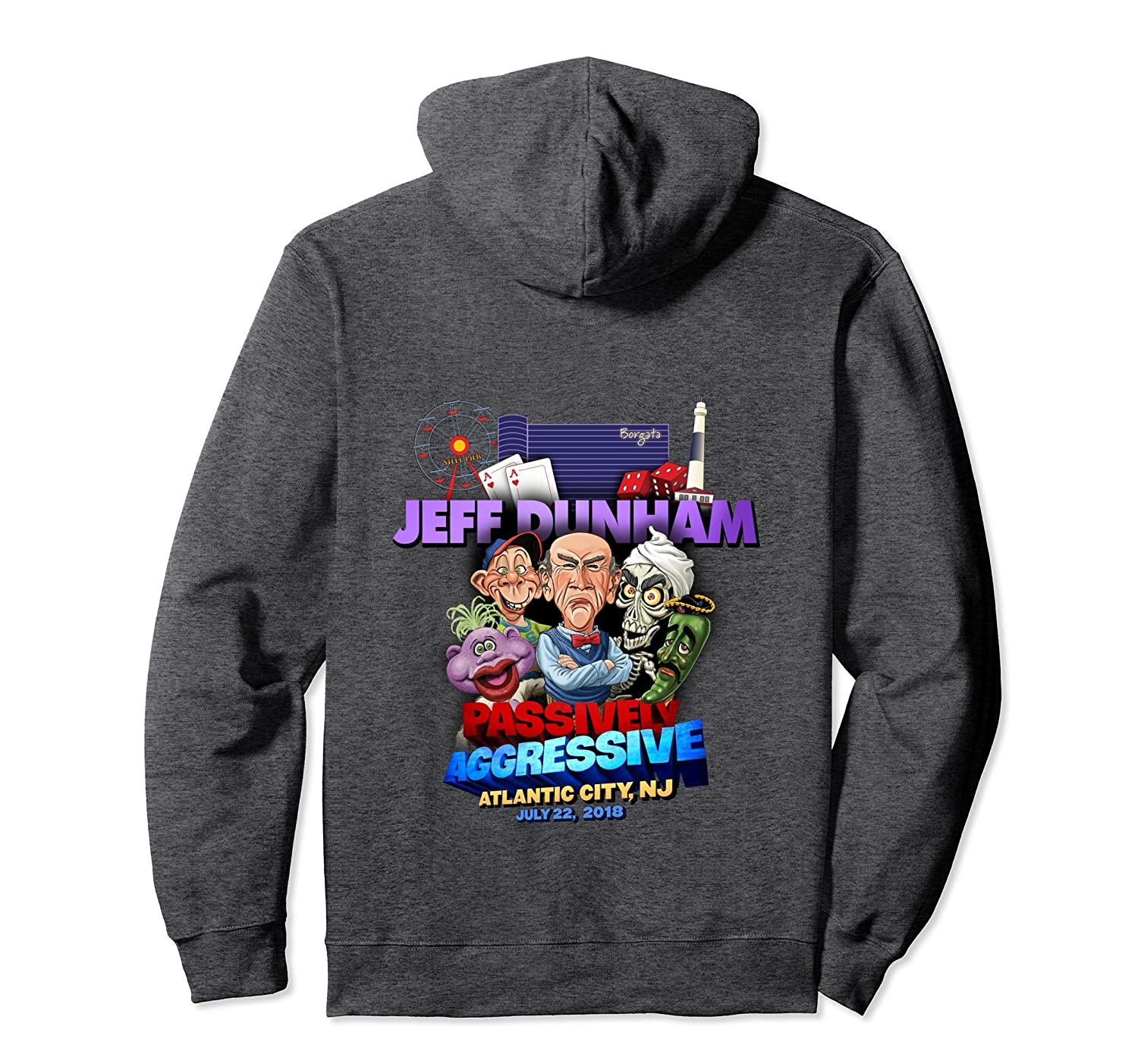 Jeff Dunham Atlantic City, NJ Hoodie-fa