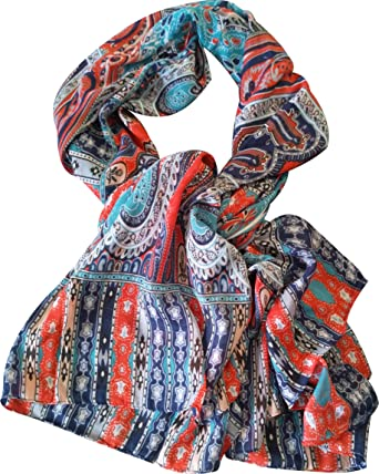 HOWARDS Chal foulard de Mujer LONDON, Foulard algodon/modal mixto ...