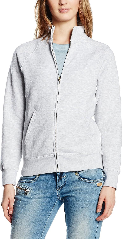 Fruit of the Loom Damen Zip Front Premium Sweatshirt