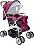 Tiffy & Toffee Baby Stroller Pram Maxtrem (Royal Purple)